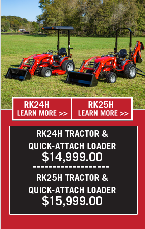 Lifestyles | Hobby Farming | RK Tractors