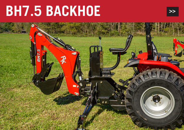 Backhoes | RK Tractors