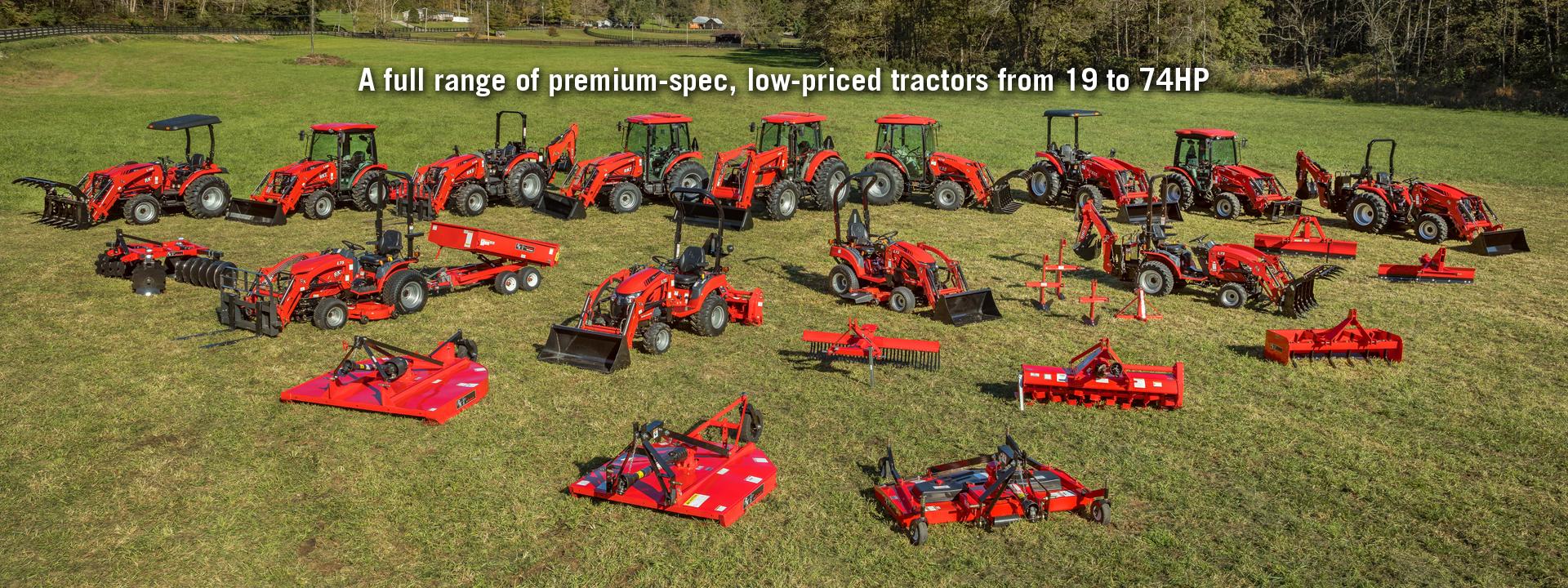 RK Tractors | More Tractor Less Price TM