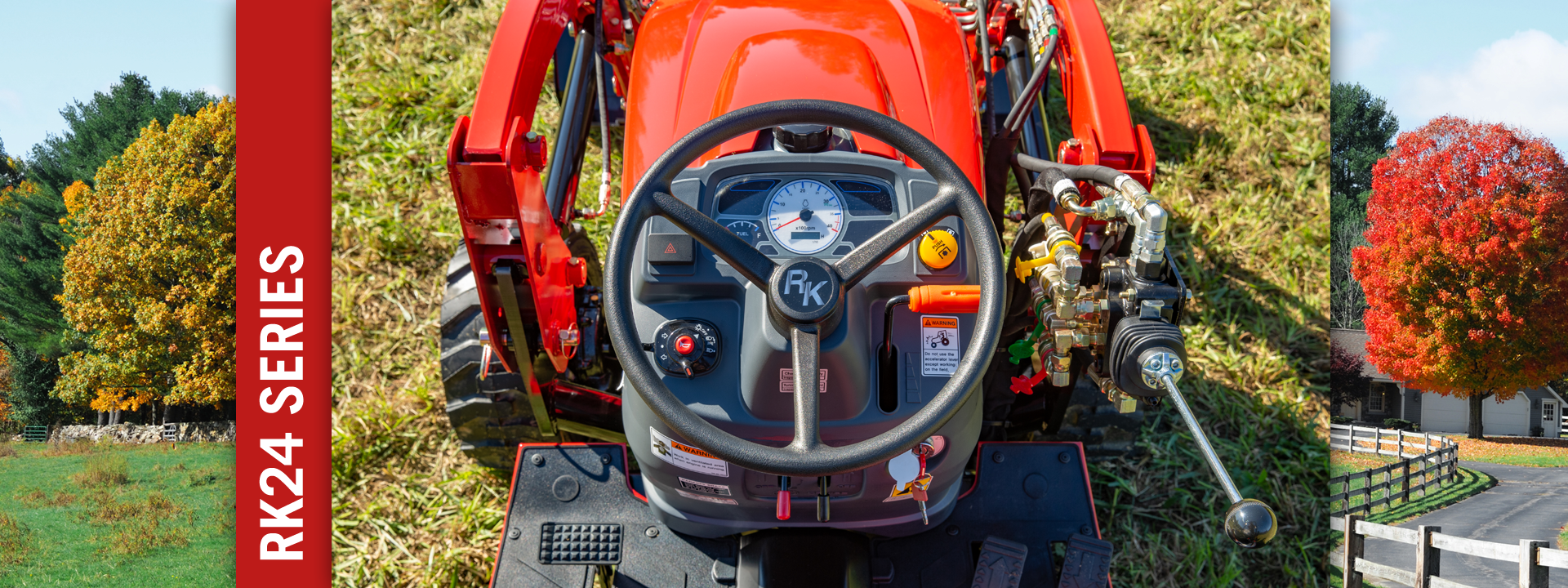 Tractors | RK24 Series Tractor | RK Tractors