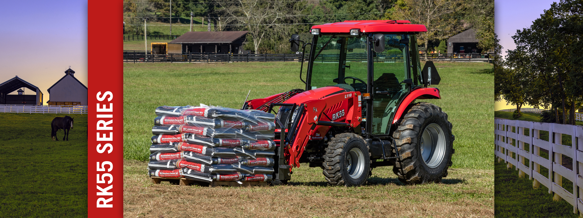 Tractors | RK55 Series Tractor | RK Tractors